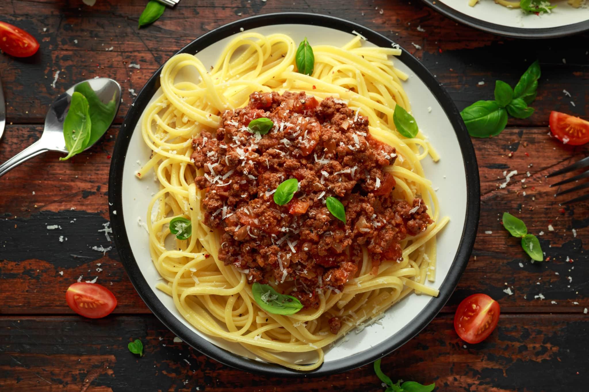 Marisol's vegetarian bolognese sauce