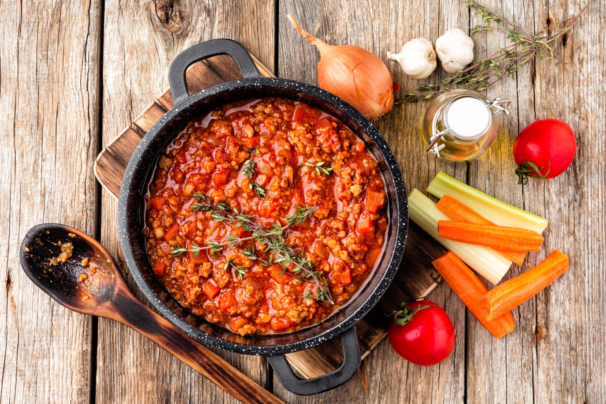 Marisol's vegetarian chili