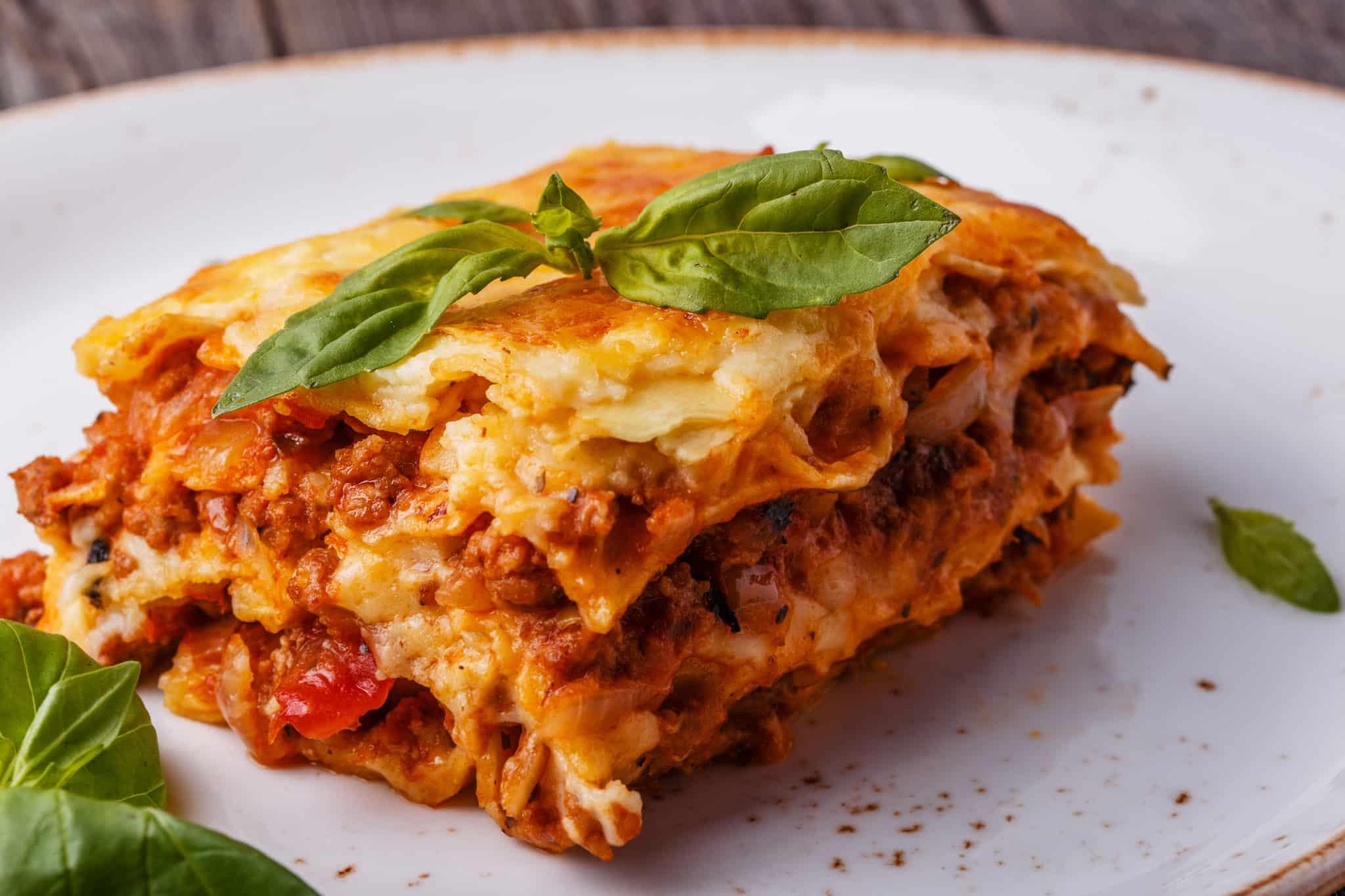 Marisol's vegetarian lasagna
