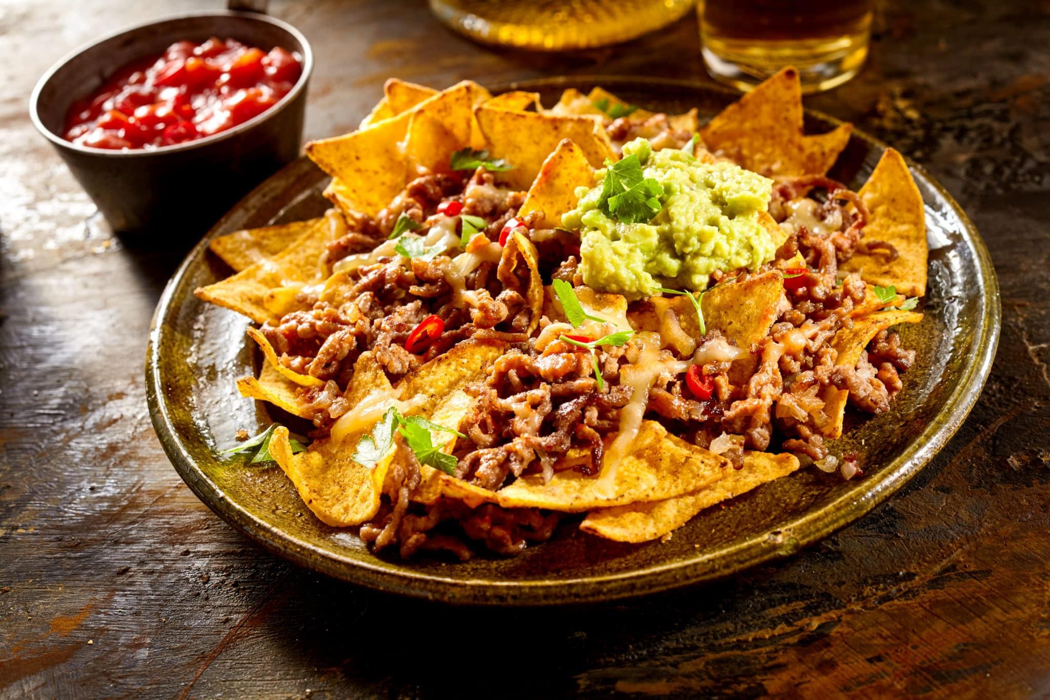 Marisol's vegetarian nachos