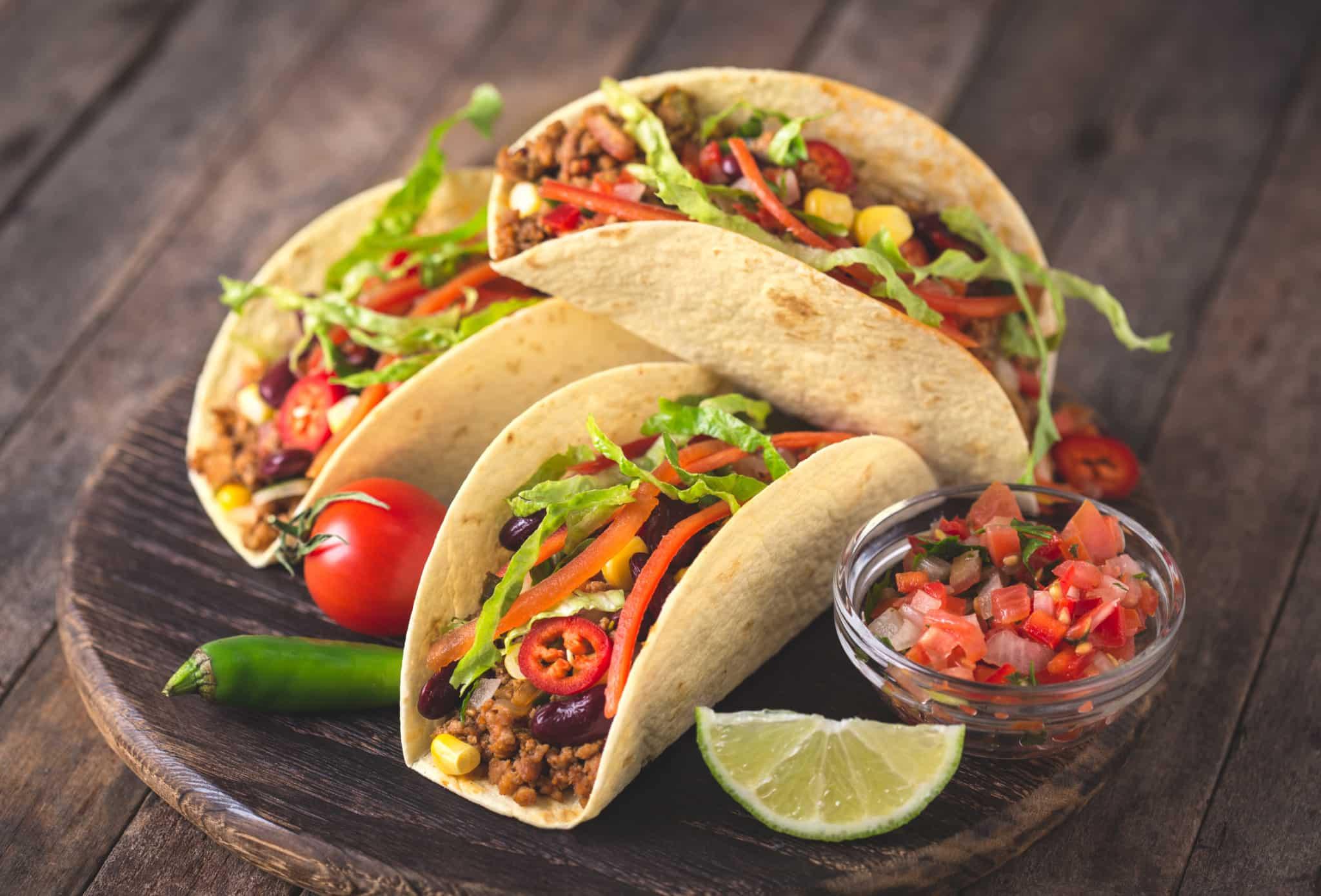 Marisol's vegetarian tacos